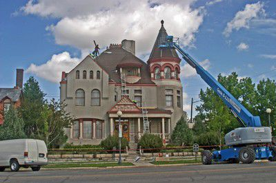 Roofing the Mansion