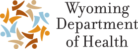 Wyoming Department of Health logo