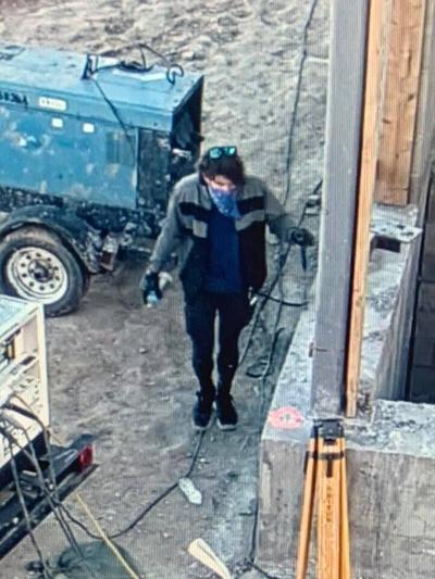 Construction trailer suspect photo