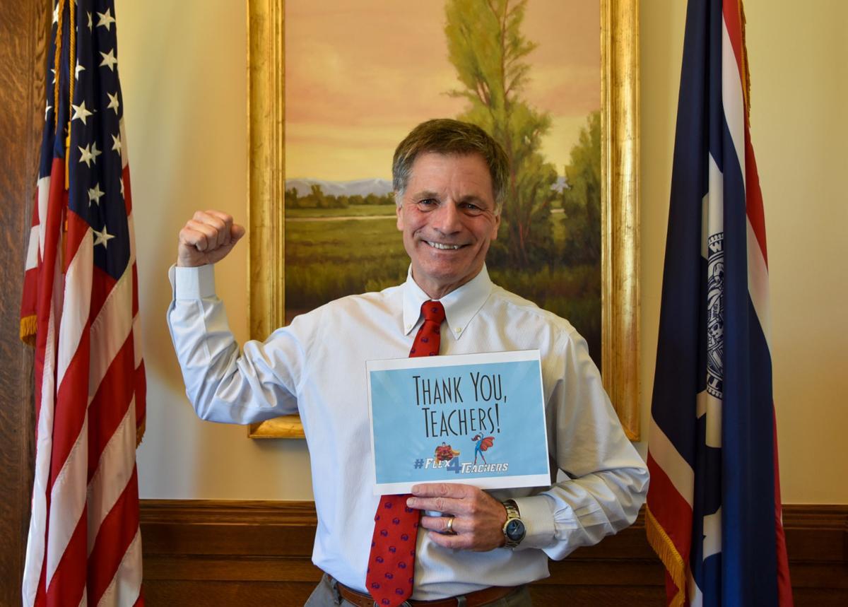 Governor Gordon Teacher Appreciation week