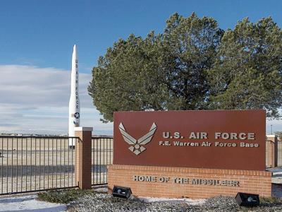 F. E. Warren AFB Sign photo