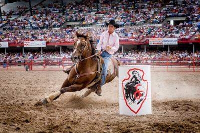 Cheyenne Frontier Days Barrel Racing