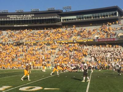 University of Wyoming UW football photo