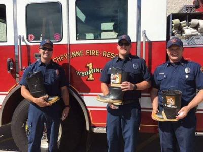 Cheyenne Firefighters Fill The Boot