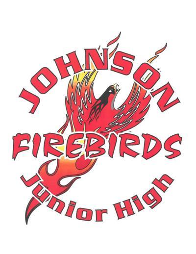 Johnson Junior High Firebirds logo