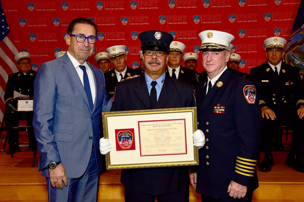 Fire Dispatcher Steps Out of Shadow as Unit is Honored for Role Saving 2  (Free Article) | Open Articles | thechiefleader.com