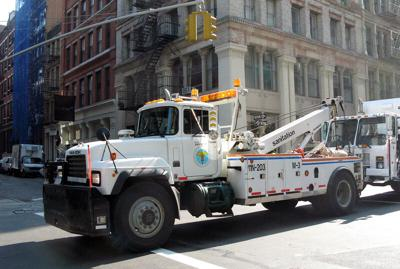 DOS tow truck
