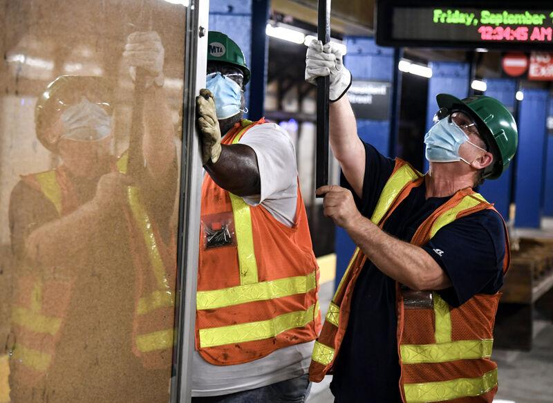 MTA workers