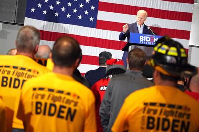 Rumbling in the Ranks After IAFF Endorses Biden Reflects