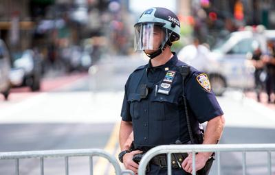NYPD faceshield