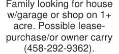 Family looking for house