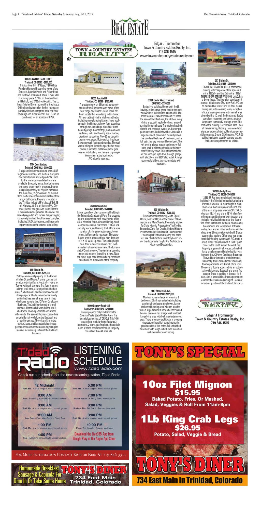 RealEstate Pg. 4, August 9, 2019