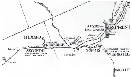 Historic Highway 12 area map