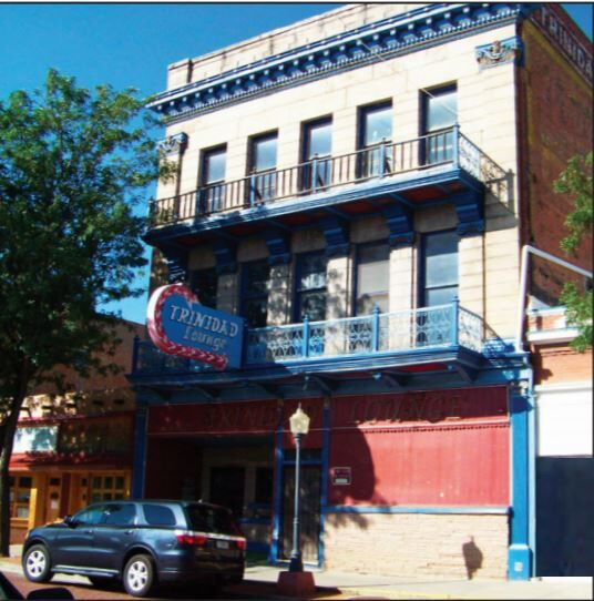 The Historic Trinidad Hotel building at 421 North Commercial Street is the home of the Trinidad Lounge. Owners Curtis Wallach and his wife Suzanne Magnuson hope to have the establishment opened by May.