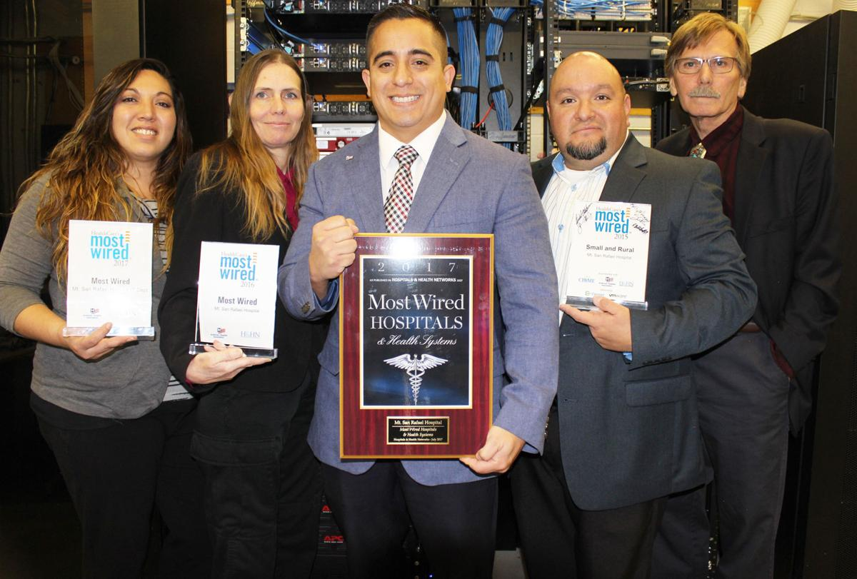 Mt. San Rafael Hospital receiveds Most Wired Award | Gallery ...