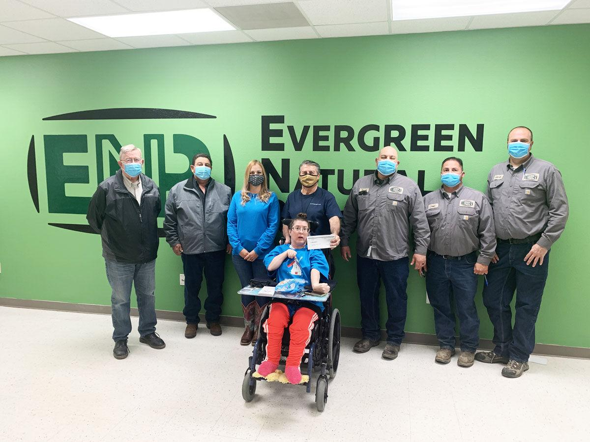 Evergreen shows support for people with disabilities