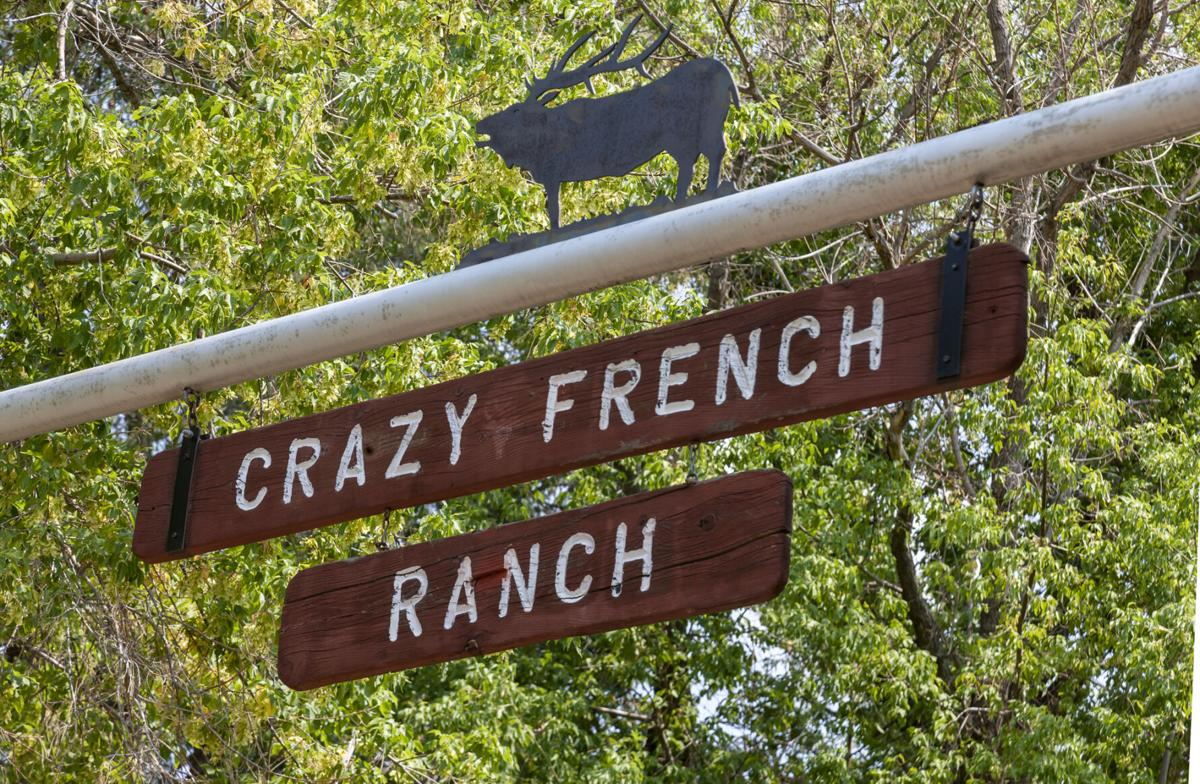 The entrance to the former Crazy French Ranch