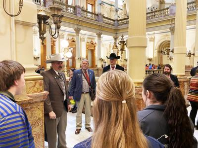 Rep Holtorf Welcomes 4 H Members To Colorado State Capitol Features Thechronicle News Com