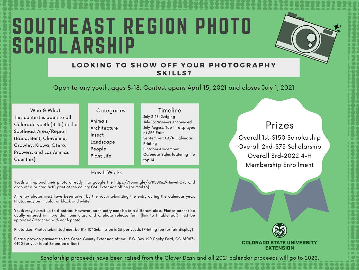 CSU extension announces youth photography scholarship