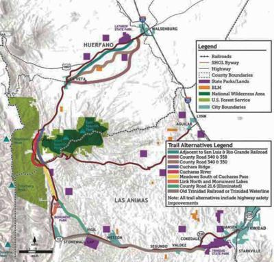 The Southern Mountain Loop Planning and Environmental Linkage Study will provide