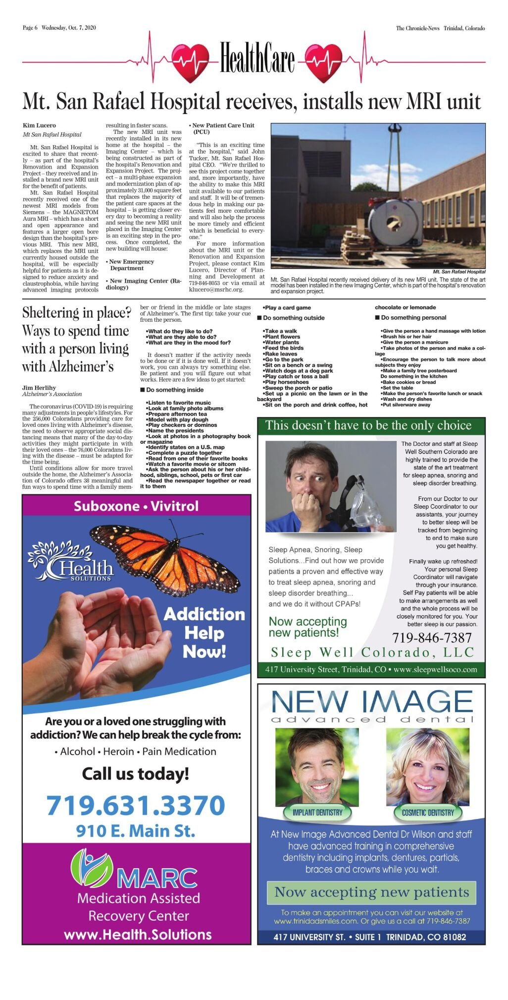 Healthcare October 7 2020 Sponsored Thechronicle News Com