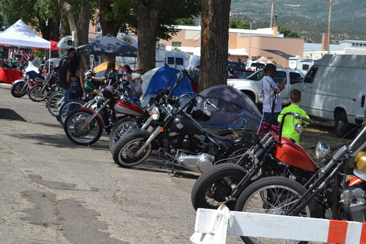 The Third annual Run to Raton Motorcycle rally