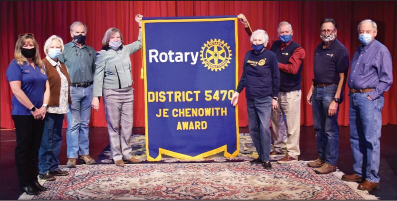 Trinidad Rotary Club honored with award for outstanding work in District 5470