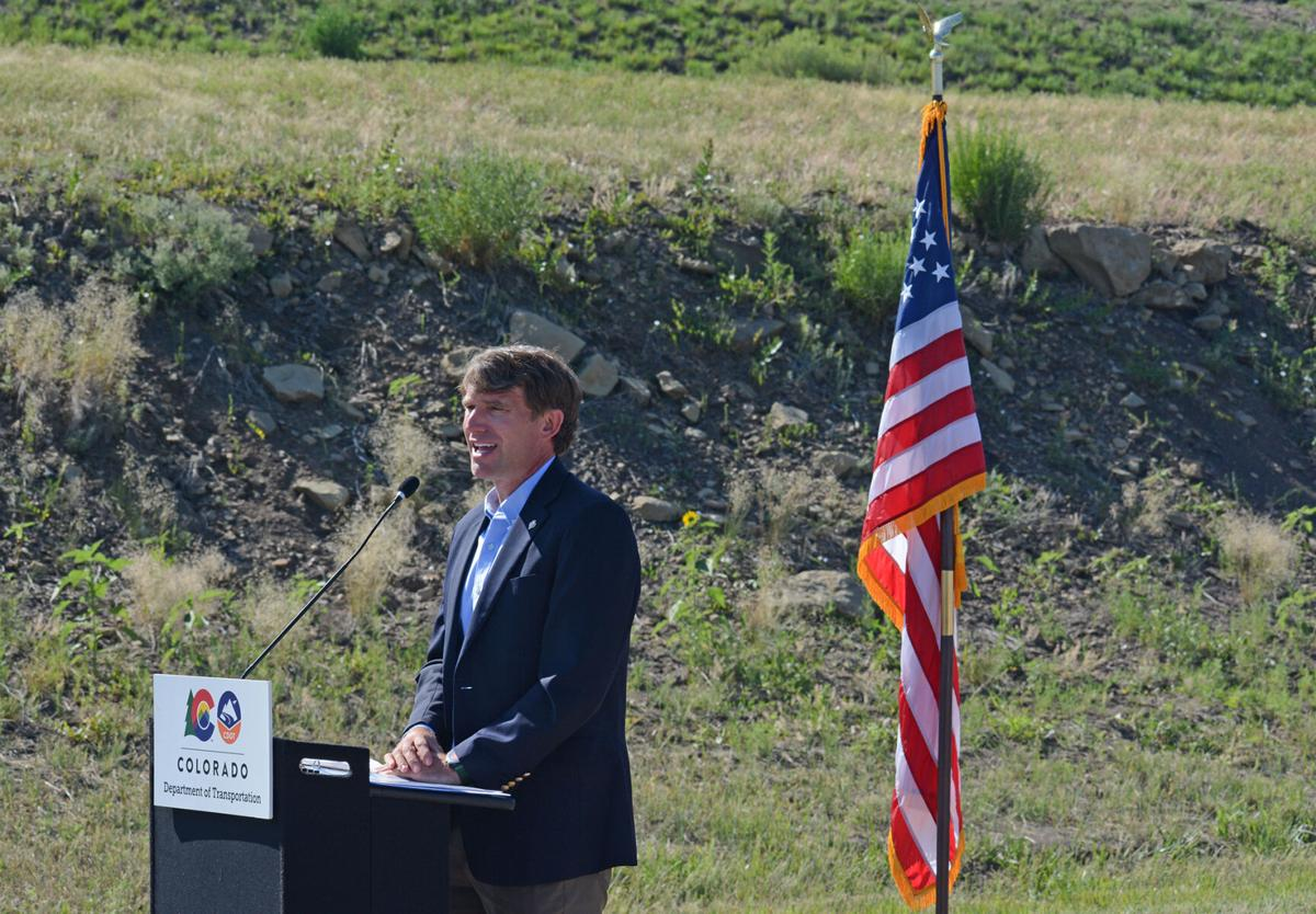 Executive Director of the Department of Natural Resources Dan Gibbs