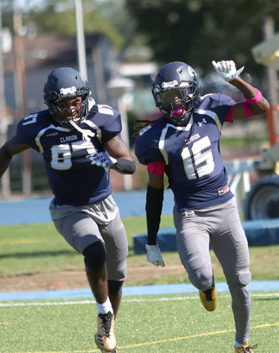Golden Eagles down Griffins in Homecoming game