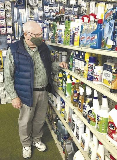 Shirey re-opens hardware store 0521