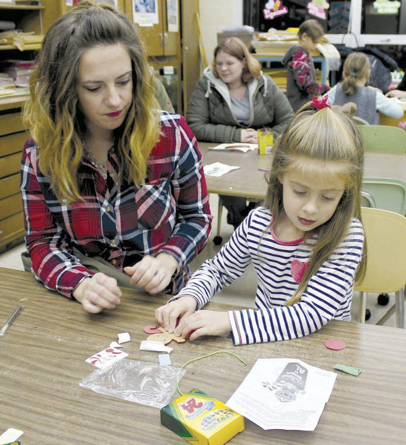 Keystone elementary hosts holiday family night
