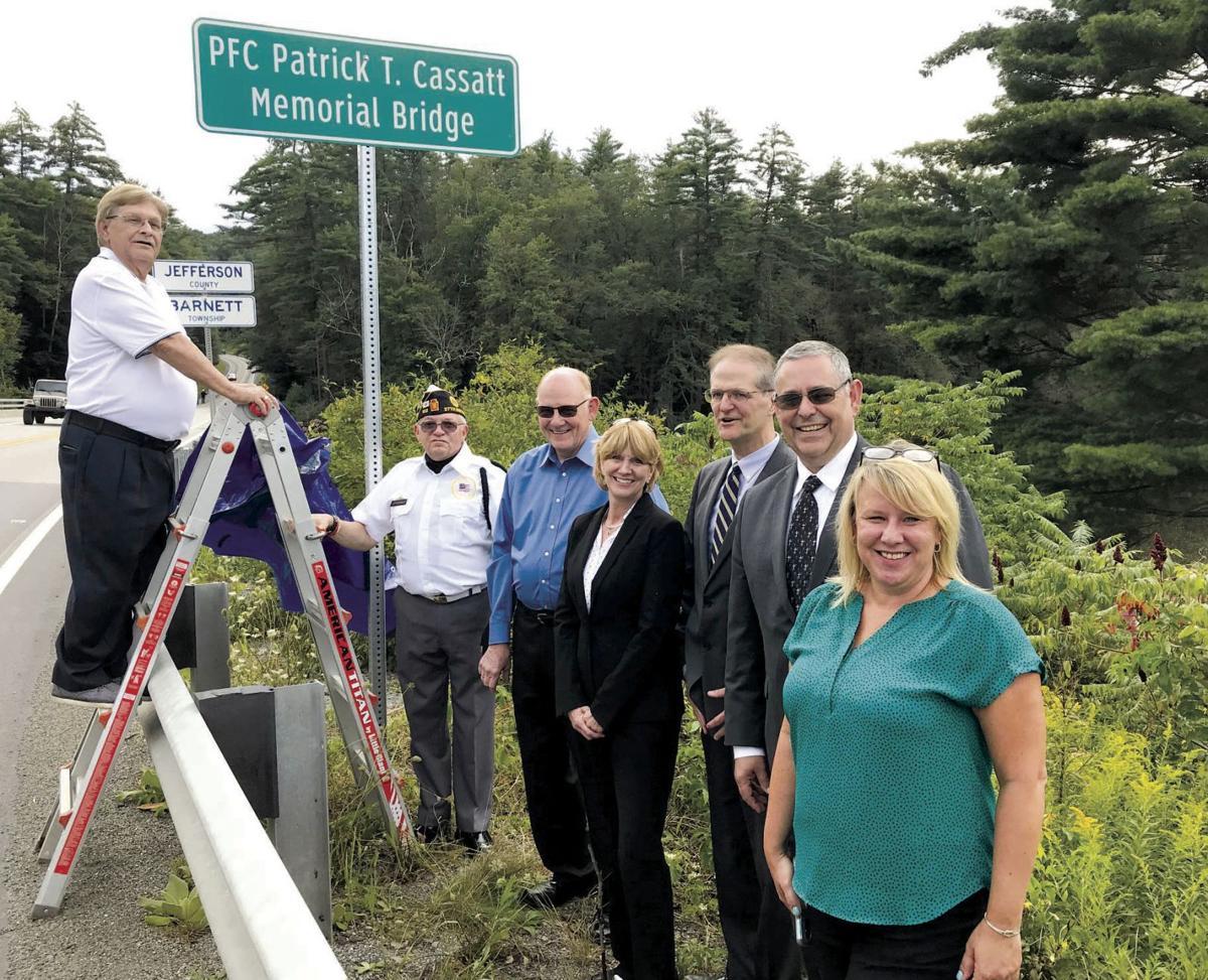 Bridge dedication honors local Korean War causality