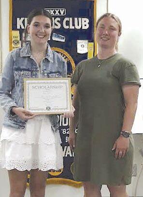 Kiwanis Club awards scholarships 21