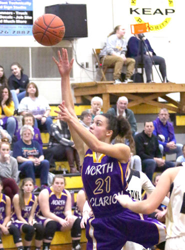 North Clarion grinds out win in KSAC girls' crossover