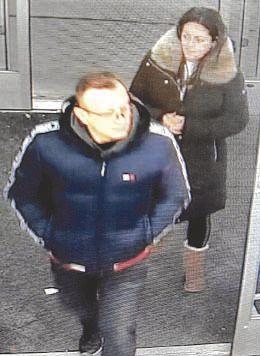 Police seek theft suspects
