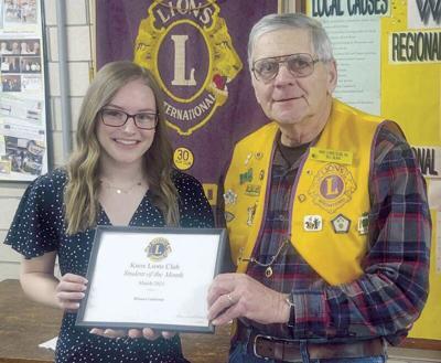 Knox Lions honor Van Tassel