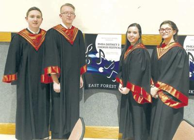 East Forest district choir 20