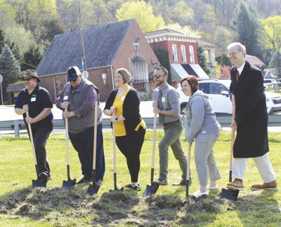 Groundbreaking ceremony launches Foxburg to Emlenton trail