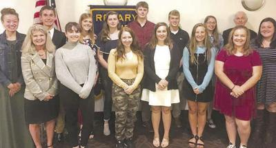 Students attend Rotary leadership conference