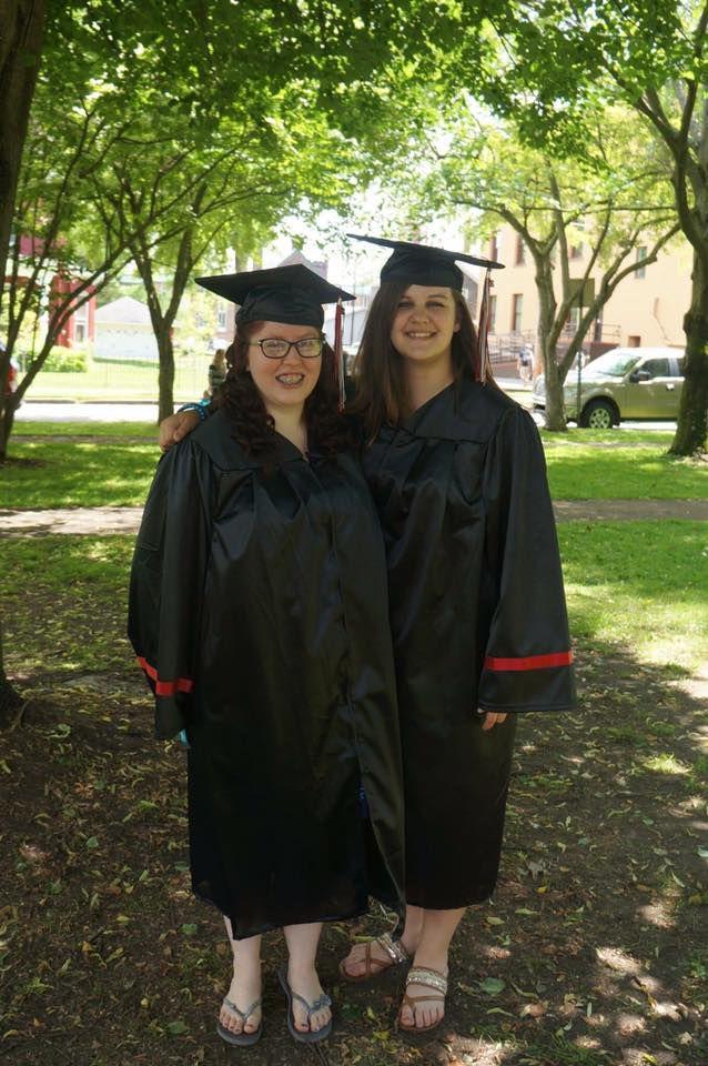 Katie Weyand and Hayley Amsden