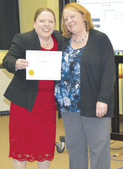 Rossetti earns national certificate