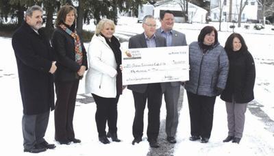 Clarion Community Bank donates to park effort