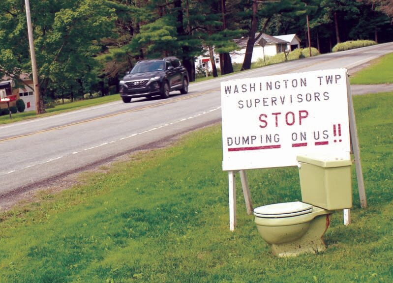 Sewerage opponents object to attorney's statement