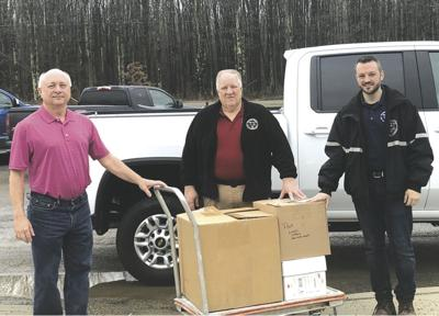 Career Center donates needed supplies