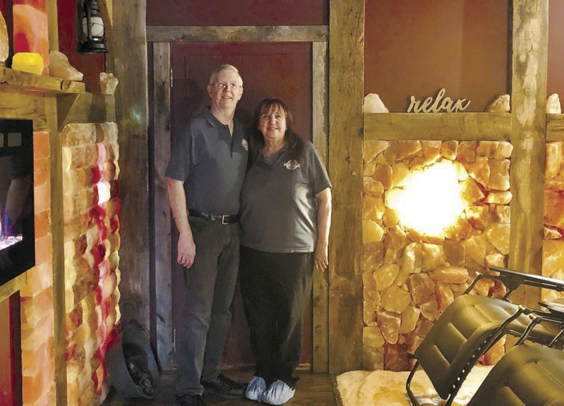 Knox couple finds business is worth its salt