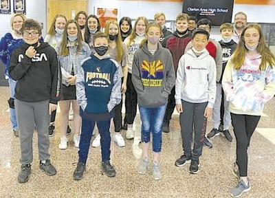 Clarion Science Olympiad team earns 11 medals