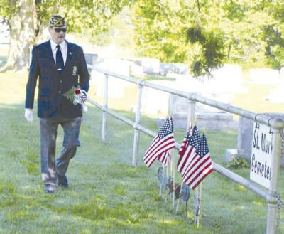 Flags will fly over veterans'' graves on Memorial Day