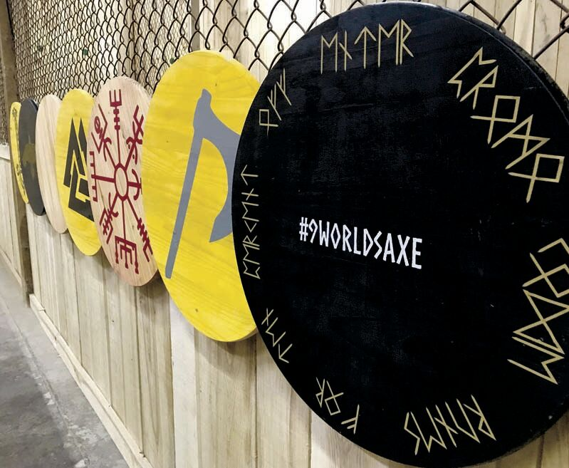 Axe throwing takes off at Clarion range