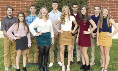 Clarion Area 2019 homecoming court