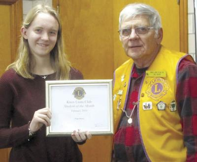 Knox Lions honor Paige Henry
